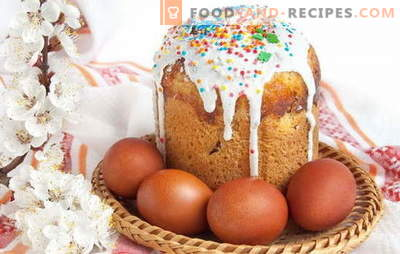 Kulich on kefir without yeast: prepare unleavened pastry. Alternative to yeast pastry - Easter cake on kefir without yeast