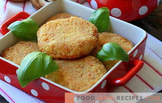 Carp cutlets are an exquisite dish for a festive table and a family dinner. Juicy and tasty carp cutlets: recipes, subtleties and secrets of cooking