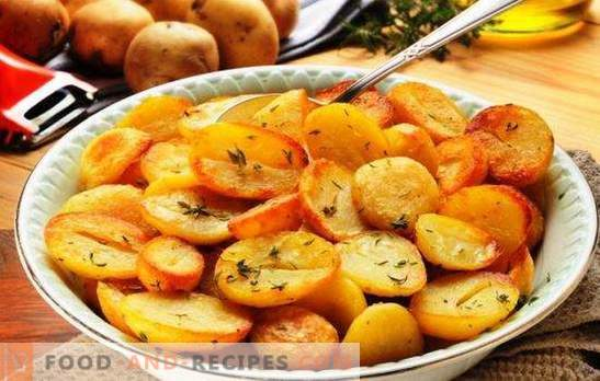 Fried potatoes in a slow cooker: crispy, fragrant. The best recipes for fried potatoes in a slow cooker with onions, mushrooms, garlic