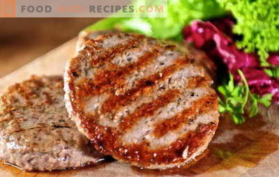 Juicy minced meat patties: simple and complex recipes. How to make tasty and juicy meatballs from minced meat: beef, pork, chicken, fish
