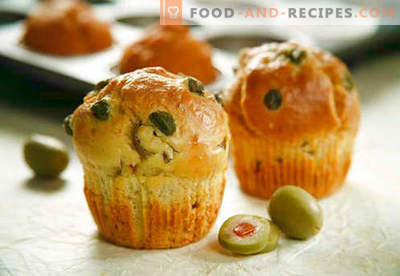 Muffins: chocolate, banana, cheese, kefir - the best recipes. How to bake muffins with fillings at home.