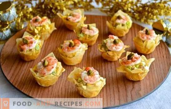 How to replace purchased tartlets: 5 exits from one position