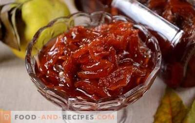 Quince jam slices - amber miracle! How to make quince jam: author's step by step photo-recipe