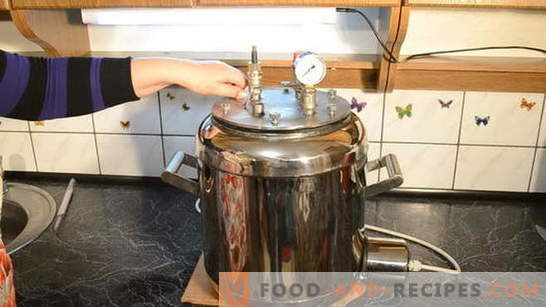 How to make stew at home: use an autoclave. Tricks of cooking delicious homemade stew in an autoclave