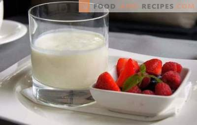 The most interesting and useful about home-made milk yogurt. A good habit is to cook homemade kefir from milk