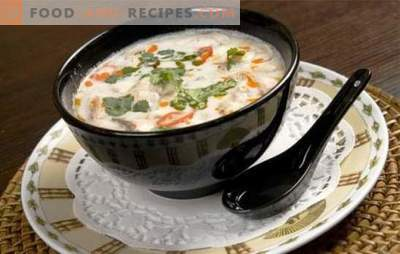 Coconut milk soup is a game of taste! Recipes for different soups with coconut milk for an exotic menu