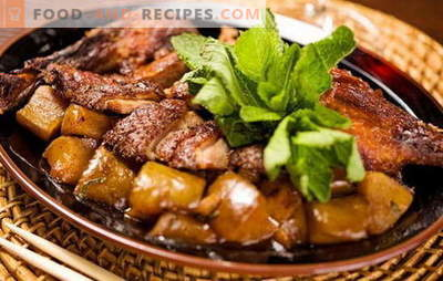 How to cook a duck with potatoes in the oven? Very tasty recipes duck with potatoes in the oven, not only for the holidays