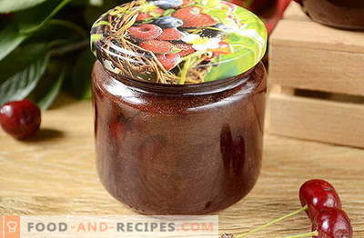 Original Cherry Jam with Chocolate