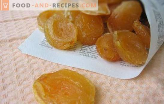 Candied apricots are a delicious dessert and the basis for creativity. Delicious dishes with candied apricots - create!