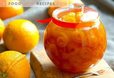 Oranges jam: how to cook orange jam correctly