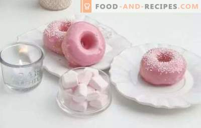 Glaze for donuts - the perfect finish! Recipes of different chocolate icing for donuts made from cocoa, chocolate, powdered sugar, proteins