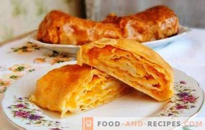 Moldavskaya Placinda - a tortilla with a filling or a pie? Recipes Moldovan placinda with different fillings