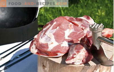 The best recipes for cooking fragrant meat in a cauldron, the secrets of adding spices. Meat in a cauldron: pork, lamb, lamb