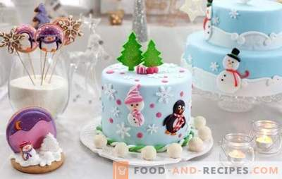 You can't do without a homemade cake for the New Year! A selection of rare and popular homemade cakes for the New Year: tasty and easy