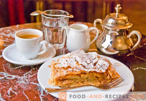 Viennese strudel - the best recipes. How to properly and tasty cook Viennese strudel.