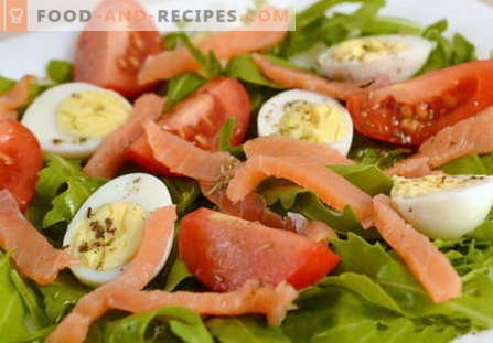 Egg salads are the best recipes. How to properly and tasty to cook egg salad.