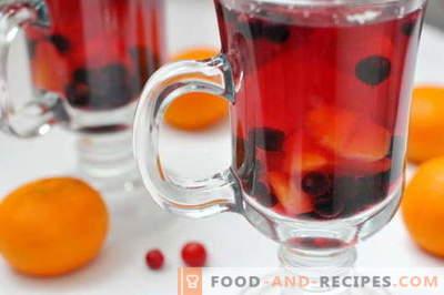 Kompott aus gefrorenen Beeren - die besten Rezepte. Wie man richtig und köstlich einen Kompott aus gefrorenen Beeren macht.