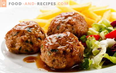 Cutlets in the oven with gravy - kill two birds with one stone! Different recipes and methods of cooking cutlets in the oven with gravy