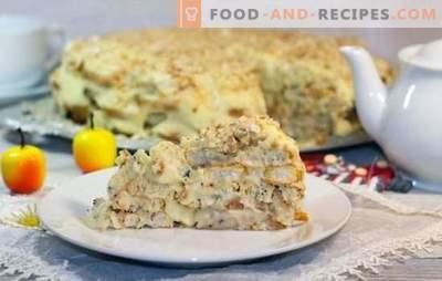 Napoleon-Torte aus den Ohren ist ein fauler, aber leckerer Nachtisch. Die besten Kuchenrezepte Napoleon Cookies