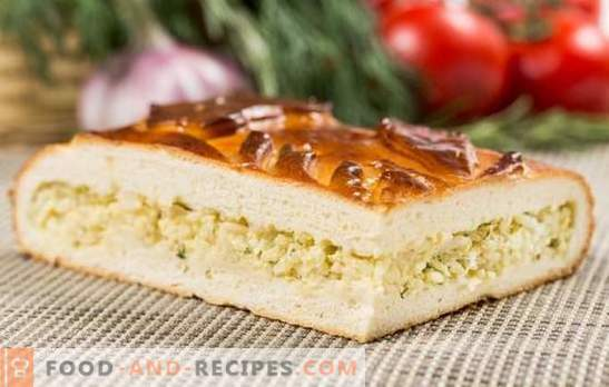 Pie with egg and mayonnaise: delicious without any special wisdom. Recipes of the best homemade egg and mayonnaise pies