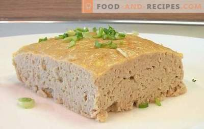 Meat souffle for a child as in kindergarten - remember your childhood! Recipes meat souffle for a child in kindergarten chicken