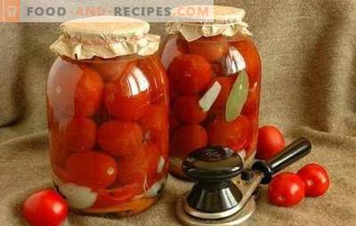 Tomatoes for the winter without garlic - we prepare vitamins for the future! Recipes of tomatoes for the winter without garlic, time-tested