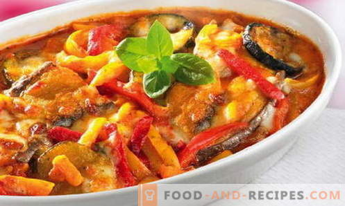 Zucchini stews - the best recipes. How to properly and tasty cook stew of zucchini.