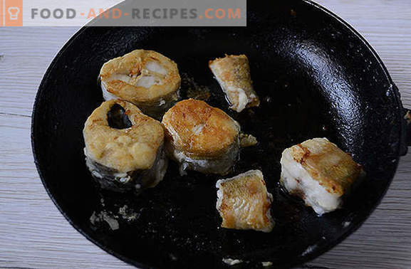 Hake under vegetables - tasty and hot and cold! Author's step-by-step recipe with a photo: how to cook a hake under a vegetable fur coat