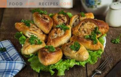 Pie with minced meat is an unusual yeast pie. Homemade recipes for tasty pies with minced meat and fish