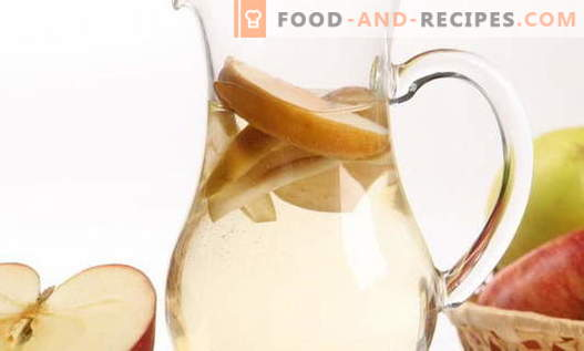 Compote from apples - the best recipes. How to properly and tasty compote made from apples.