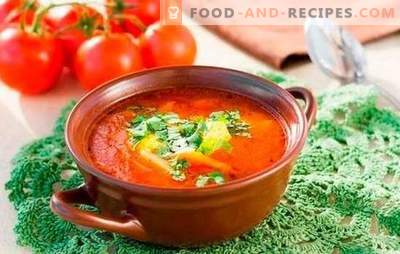 Kharcho soup: cooked according to simple recipes. Subtleties and secrets of cooking soup kharcho: simple recipes with beef, lamb, chicken
