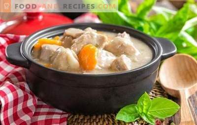 A turkey in sour cream: more tender, more juicy! The best recipes of turkey in sour cream with vegetables, mushrooms, bacon