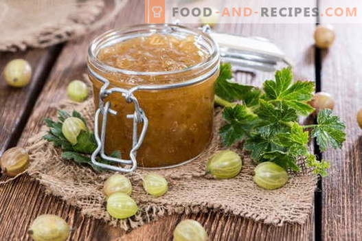 Gooseberry jam: how to cook properly