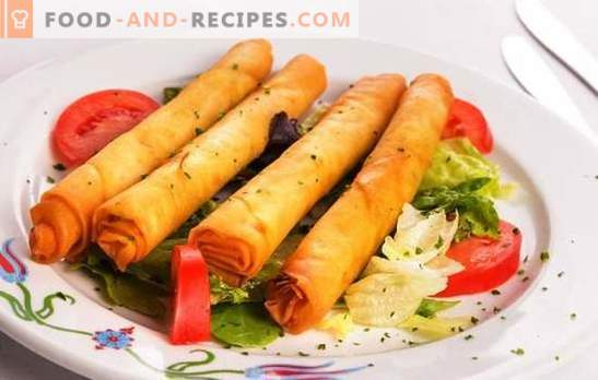 Sticks of pita with cheese - an unusual snack! Recipes ruddy, fragrant, crunchy sticks of pita with cheese