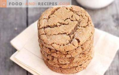 Oatmeal cookies with honey - fragrant homemade cakes. A selection of the best recipes for oatmeal cookies with honey and the addition of other ingredients