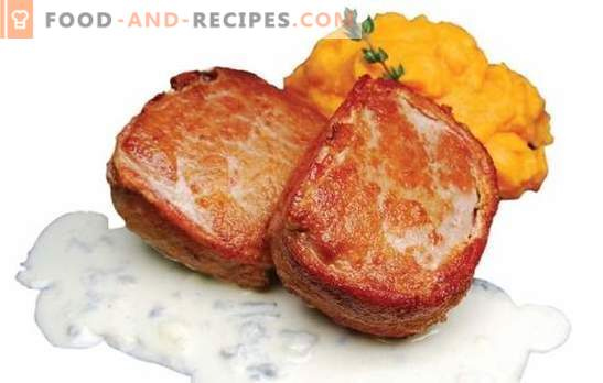 Turkey medallions - food of champions and champions. How to cook juicy turkey medallions: in the oven and on convection oven