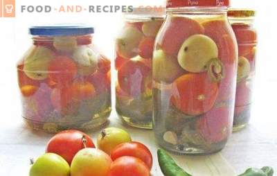 Red and green tomatoes with apples for the winter: help yourself! Recipes of canned, salted and pickled tomatoes with apples for the winter