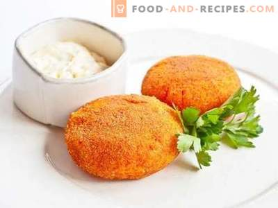 Carrot patties are the best recipes. How to properly and tasty cook carrot cutlets.