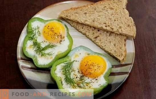 Fried eggs in the slow cooker - easy! Recipes scrambled eggs in a slow cooker; scrambled eggs, fried eggs, with tomatoes, cheese, sausage, steamed