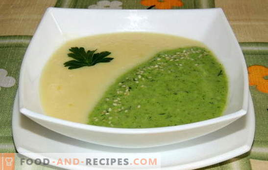 Such tasty and simple mashed soups. Try to cook a delicious and simple cream soup - simple recipes, available products