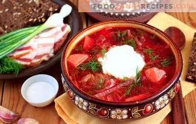 Slavic home cooking: Little Russian, Cossack and Ukrainian borsch. Step-by-step recipe of Ukrainian borsch and some history ...