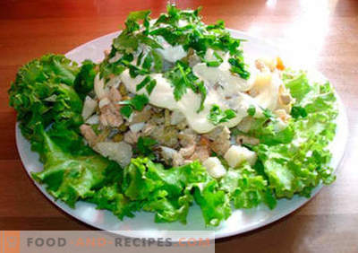 """Moscow"" salad - the best recipes. How to properly and tasty cook salad"