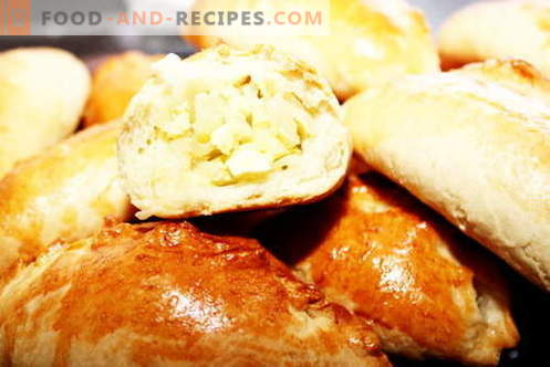 Pies with cabbage - the best recipes. How to properly and tasty cook patties with cabbage.