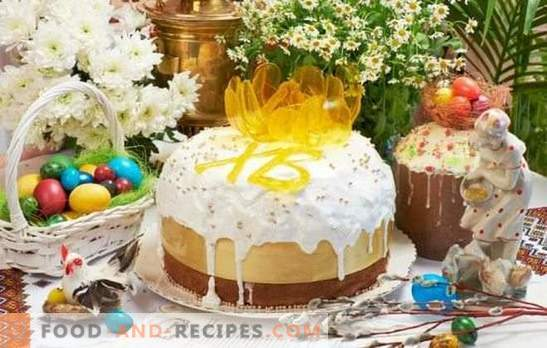 Easter cake without yeast is an alternative to yeast baking. How to bake delicious cakes without yeast on kefir or sourdough on Easter Eve