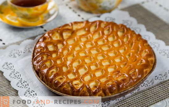 Pie with cottage cheese in a hurry - a useful pastry without the hassle. How to cook a delicious pie with cottage cheese in a hurry