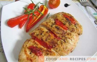 Chicken Breast with Tomatoes: Top 10 Best Author's Recipes. Fry, simmer, bake chicken breast meat with tomatoes