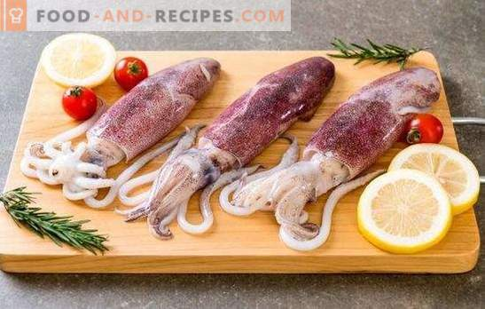 Mistakes cooking squid, shrimp and other marine reptiles