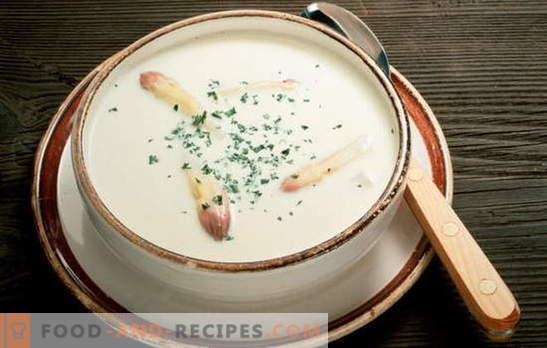 Suppen für Gastritis mit niedrigem und hohem Säuregehalt. Rezepte mit Fleisch-, Fisch-, Gemüse- und Getreidesuppen bei Gastritis