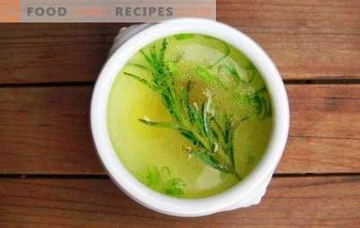 Broth in a multivariate is a convenient semi-finished product. How to cook chicken, meat, fish, vegetable broth in a slow cooker