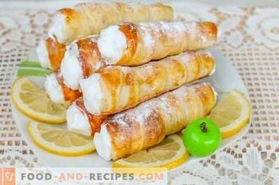 Puff Tubes - Anti-Crisis Dessert Recipe